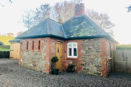 Country studio set on gate of Grade I garden