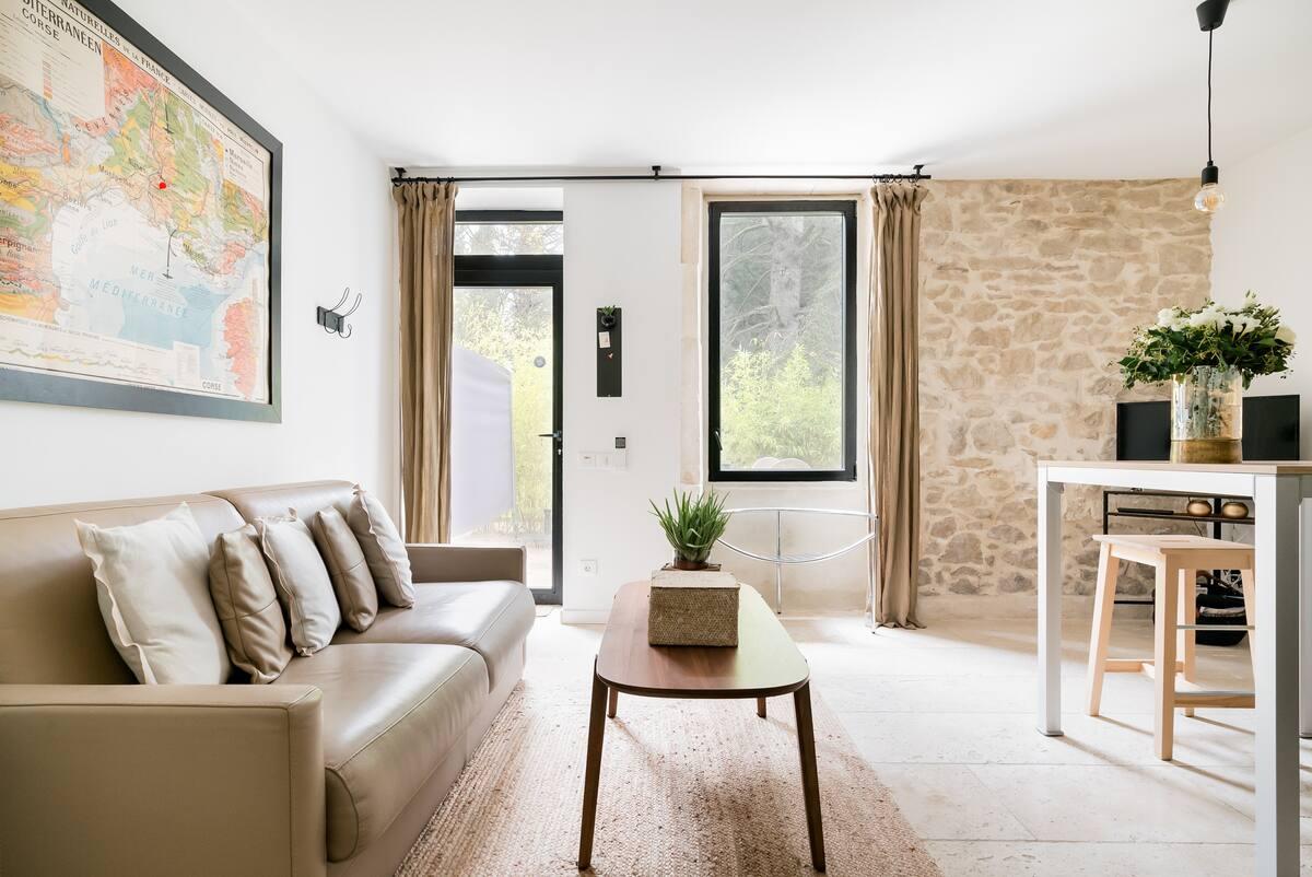 Mas Stella- Appartement de charme dans un Mas provençal rénové