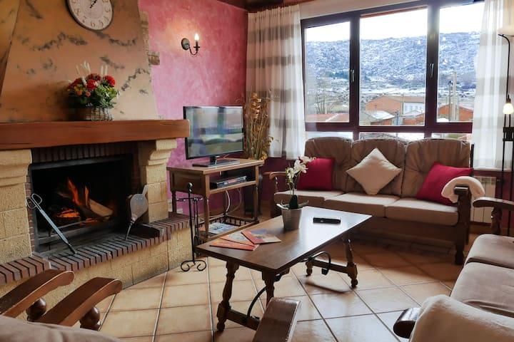 Casa Rural para grupos de 8 en Ávila - LOS MOROS