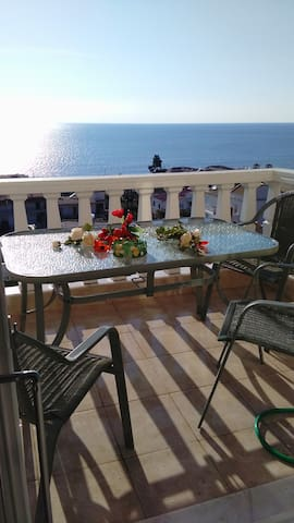 Cozy sea view appartment by the Ionian sea - GR - Leilighet