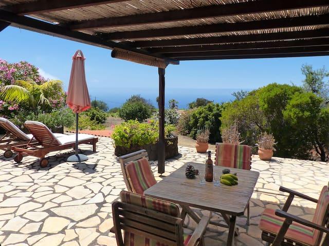 Finca-Vista-Atlantico, Puntagorda, Insel La Palma - Puntagorda - Rumah