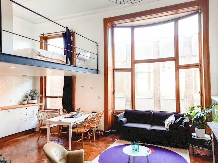 Unique & historical loft in Antwerp Center
