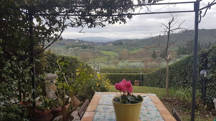Villa Caterina - giardino e posto auto privati