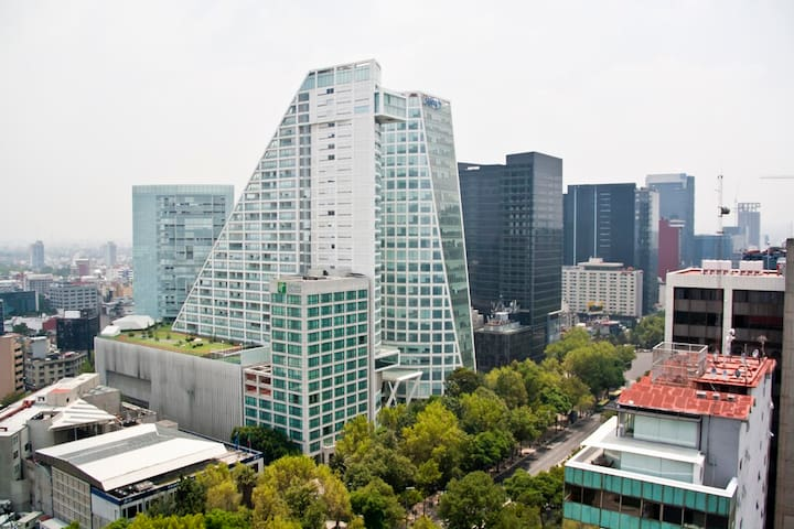 Best location. Exclusive 2 room Apt in Reforma - Ciudad de México - Byt