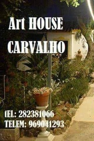 ALGARVE Casa Carvalho, 2mn praia Carvoeiro,Marinha