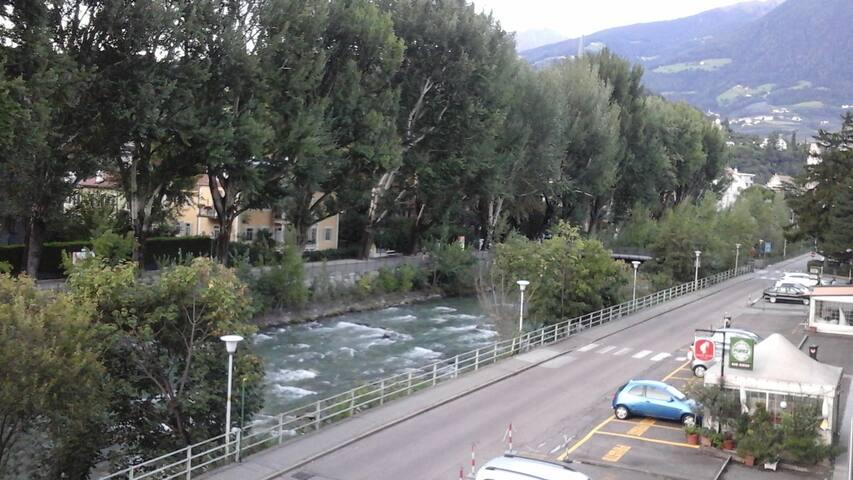 Appartamentino in riva al Passirio a Merano