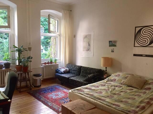 Big,Cozy and quiet Room in Central Berlin.