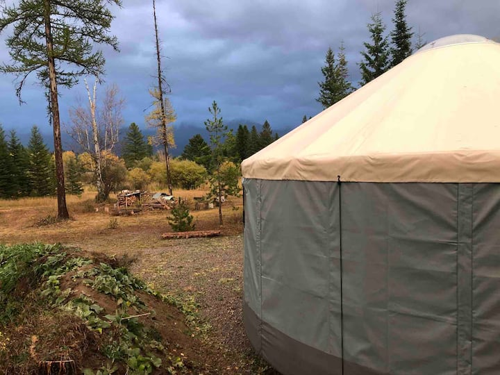 Yurt at Base Camp Bigfork