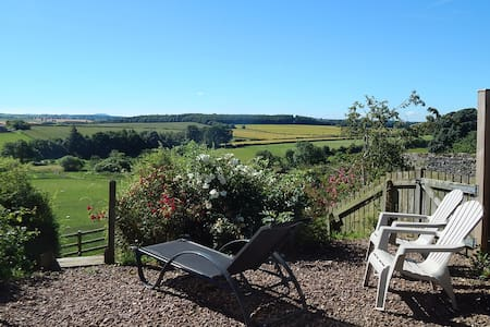 GardenBank, views, walks, tennis court,logburner