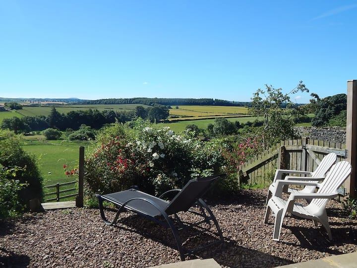 GardenBank, views, walks, tennis court,logburner