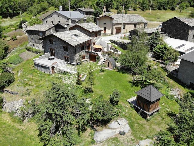 le chalet de la Vanoise. 15 people 205 m2, sauna