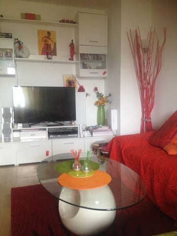 Lovely,Calm,Cosy new flat 18min from ChampsElysées - Gennevilliers - Condominium