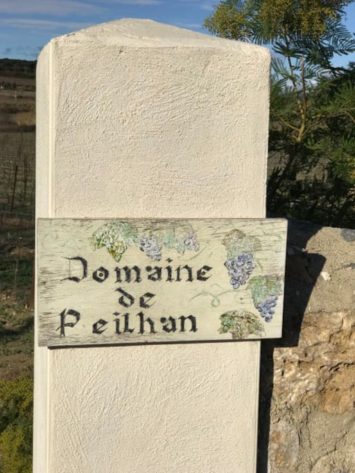 Welcome/Bienvenue/Welkom Domaine de Peilhan Roujan, France