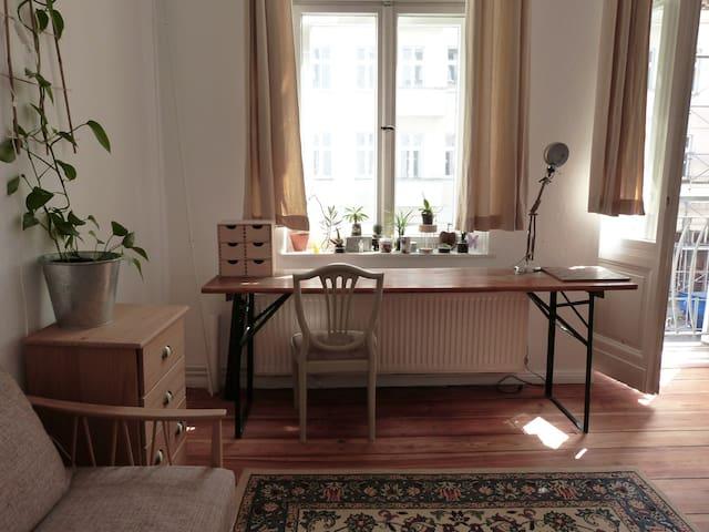 Freundliches Zimmer im Zentrum - Berlin - Apartament