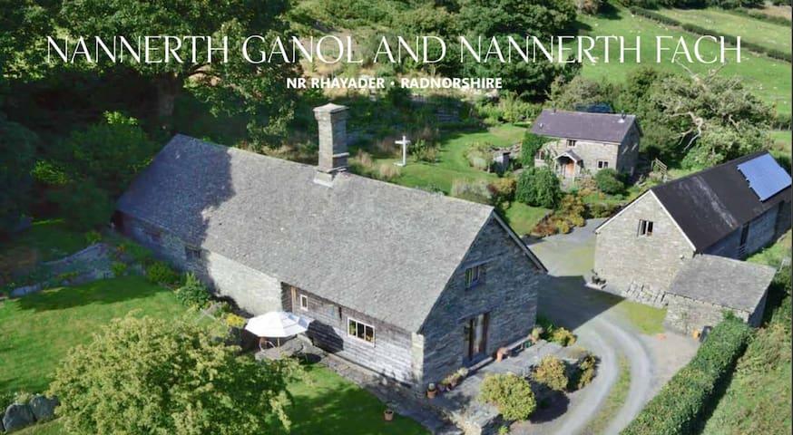 Nannerth Ganol, artists retreat cottage