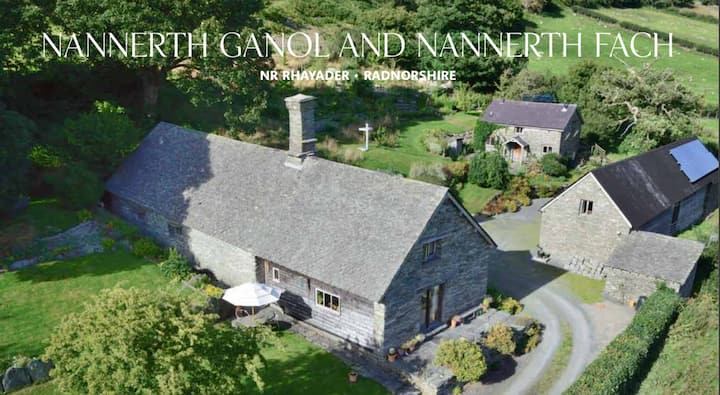 Nannerth Ganol, artists retreat cottage