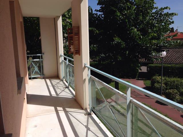 Appt T3 calme à 5' de Toulouse - Balma - Apto. en complejo residencial