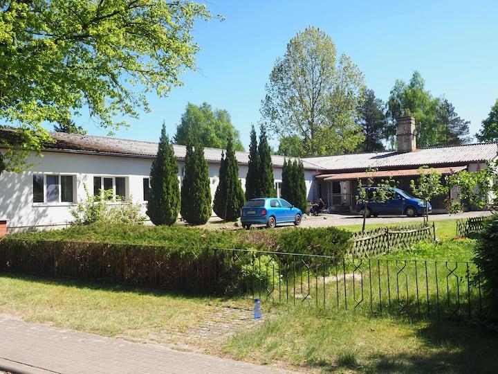Gruppenhaus an der Mecklenburgischen Seenplatte