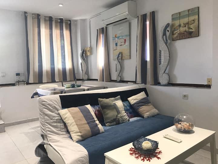 Apartamento en la playa de Calafell. Barcelona