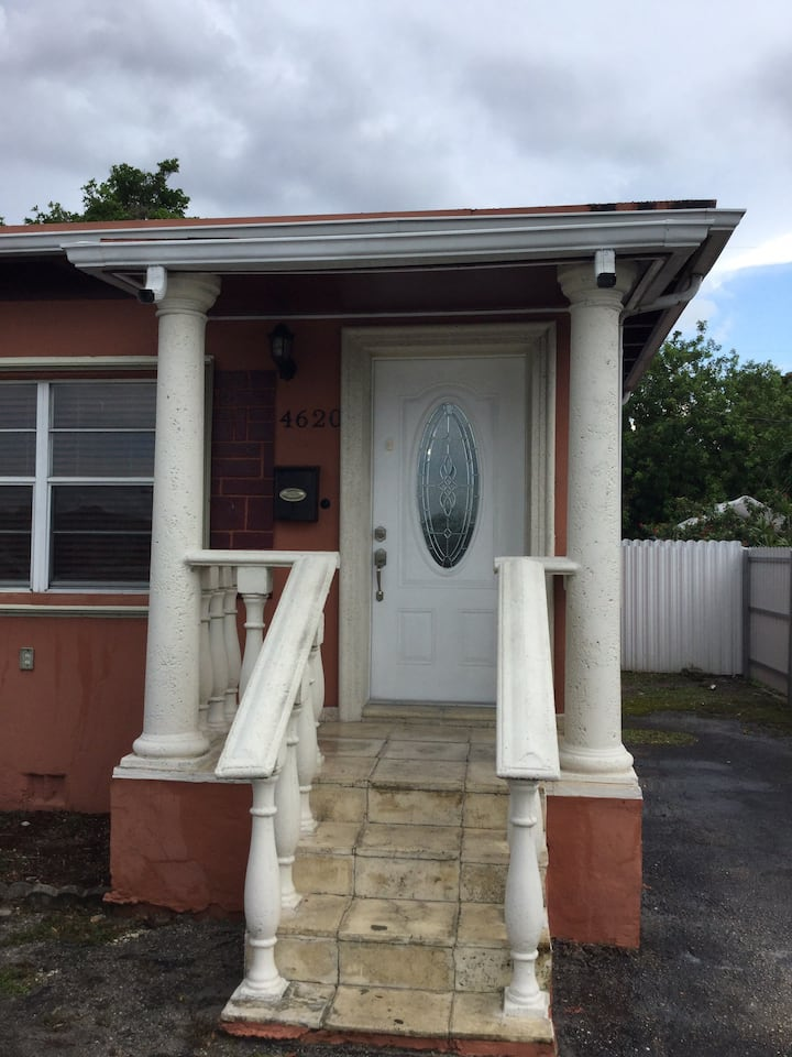Your little house in east Hialeah, Miami.
