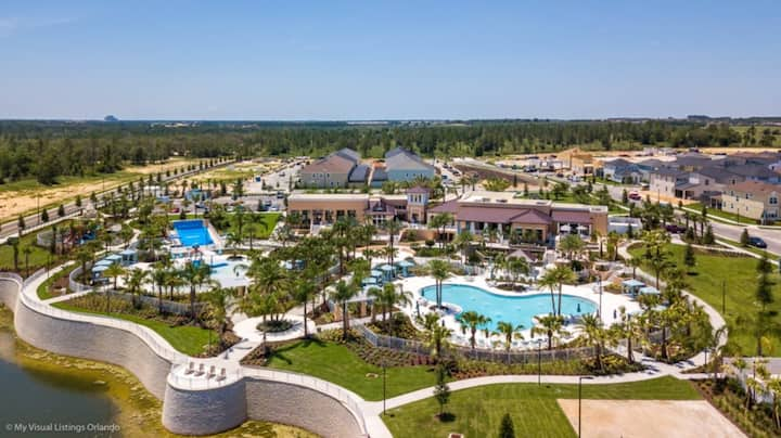 Your Family will love the 1st Class Amenities at Your Private Villa on Windsor Island Resort, Orlando Villa 5044