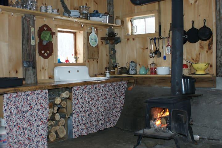 Rustic Sugar Shack Cabin