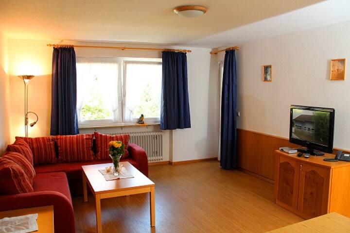 Gasthaus zum Bäreneckle, (Biederbach), Ferienwohnung Hörnleberg, 48 qm, 1 Schlafzimmer, für max. 2 Personen