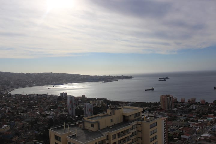 Valparaíso: vista increíble, Cerro Placeres