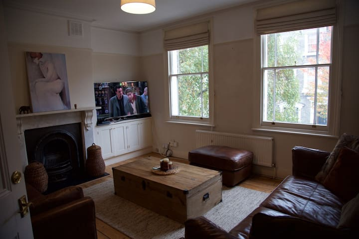 Cosy double bedroom in Victorian House - Londyn