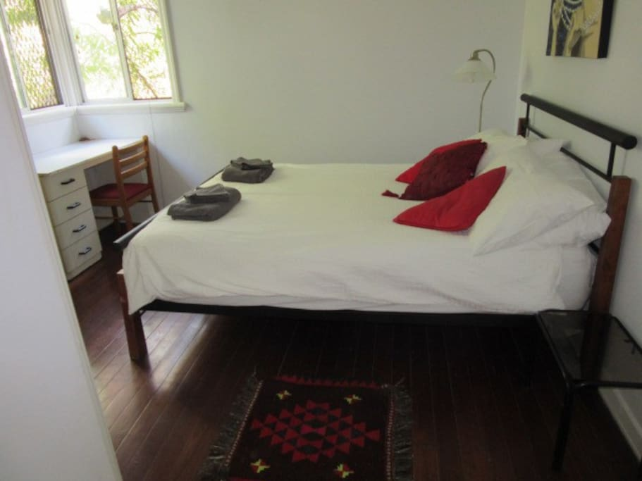 Large rooms with double beds
