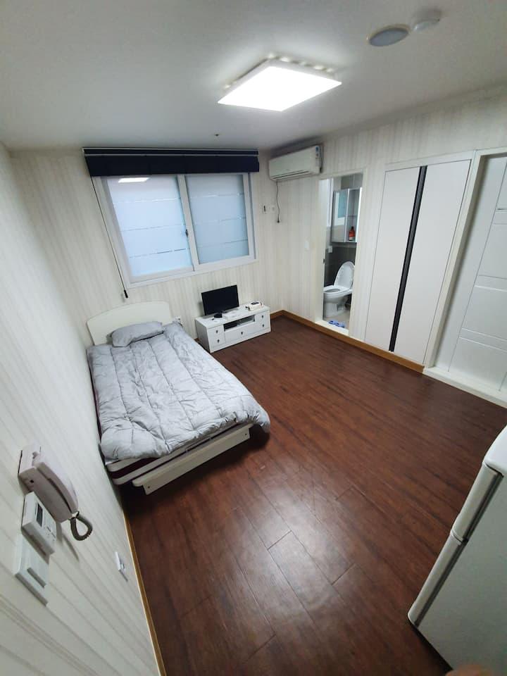 안산 해외입국자 14박15일 가능 풀옵션 원룸 깨끗한 숙소[문의 후 예약 바랍니다]