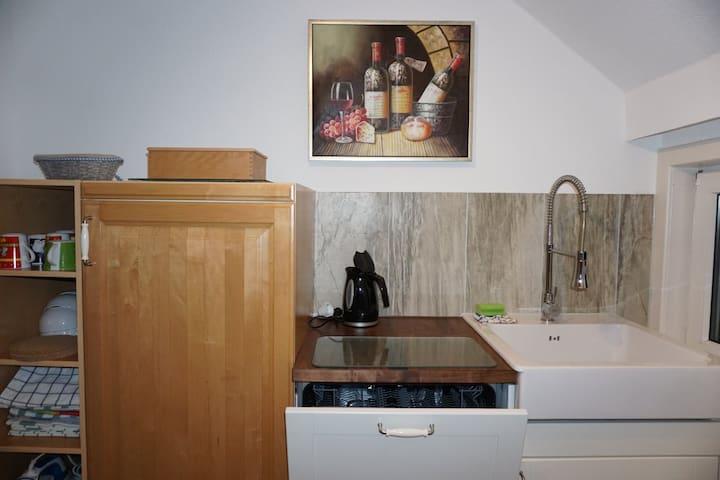hübsche 45 qm Wohnung in reizvoller Umgebung - Kreuztal - Apartamento