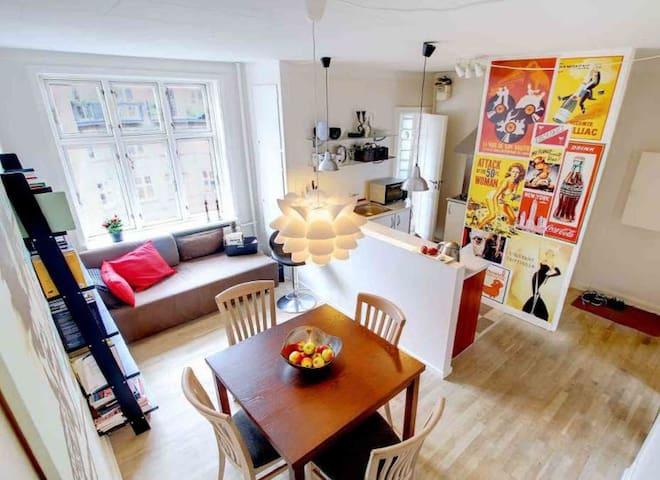 Two-room apartment in Copenhagen - โคเปนเฮเกน