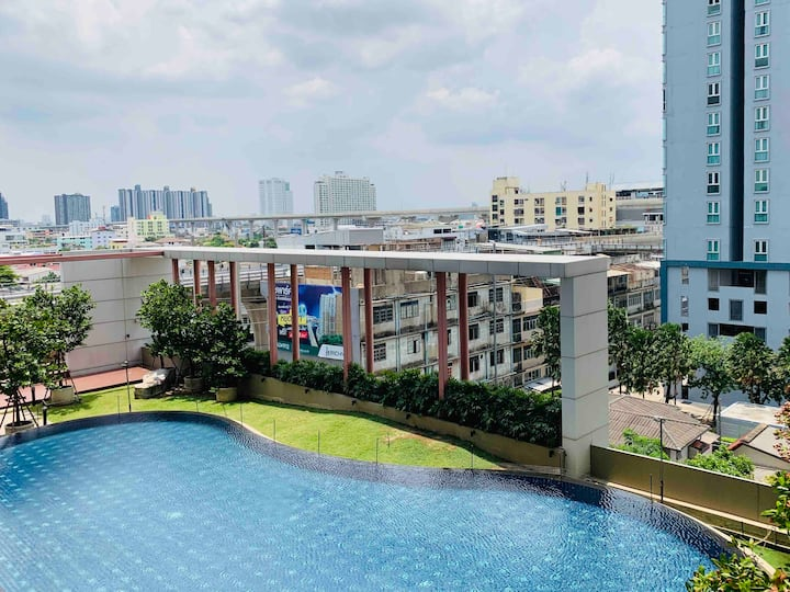 Pool View Rich Park Modern Living @Taopoon MRT