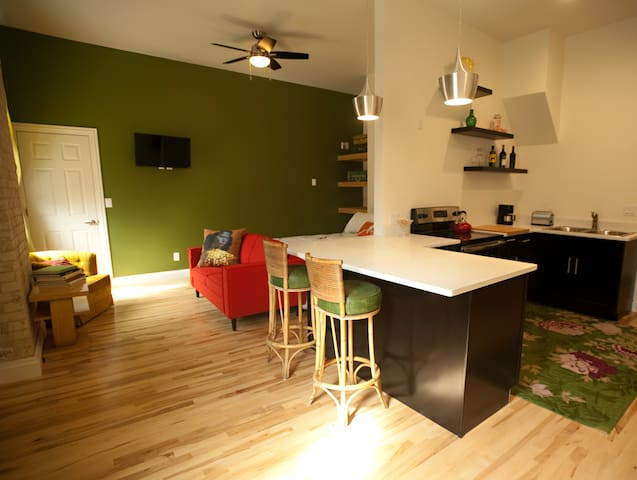Cozy and convenient studio living!