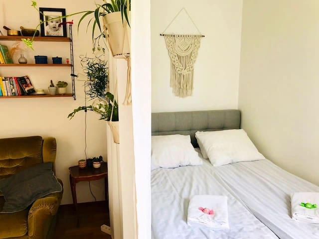 Sov- och vardagsrum