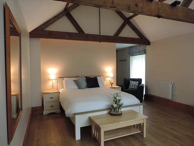 Luxury accommodation in a barn conversion