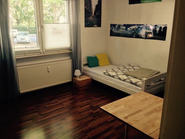 Cosy private room (21qm) in hipster-district - Mainz - 公寓