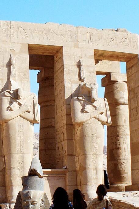 Ramseum temple