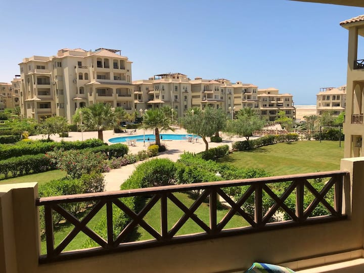 3BR chalet in Stella Marina fully air conditioned
