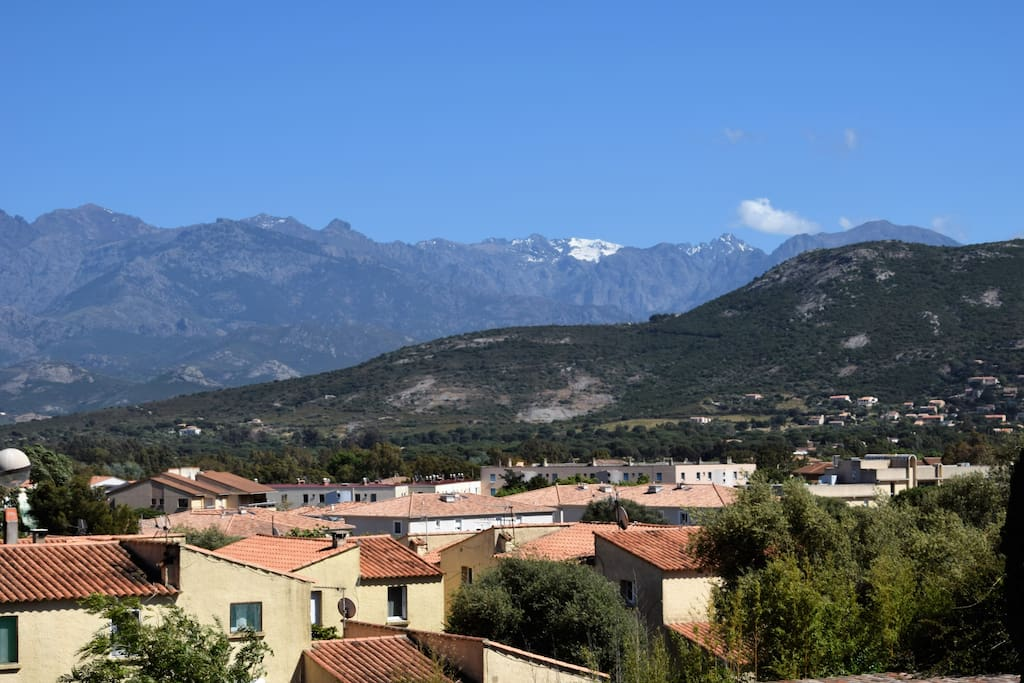 Les montagnes de Balagne.