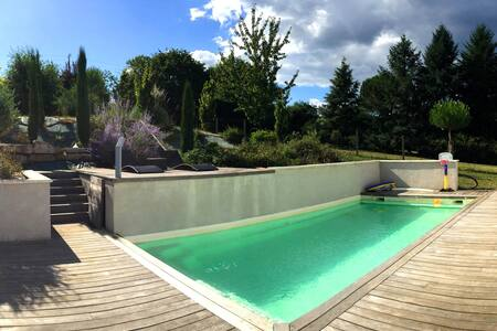 Maison Spa & Piscine en Périgord Pourpre - Saint-Sauveur - House