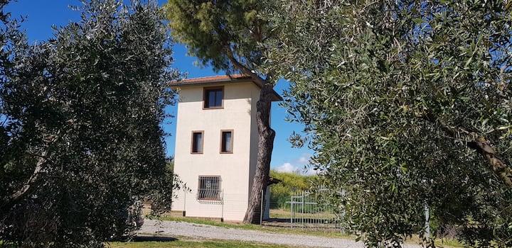 """La Cabina"" Maremma Toscana davanti all'Argentario"