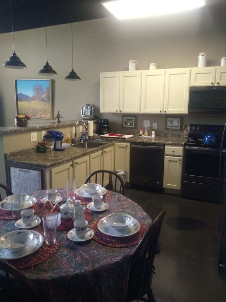 Downtown Apartment in newly renovated mill!