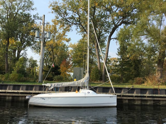 Boatstay Toronto Islands. - Toronto - Bateau