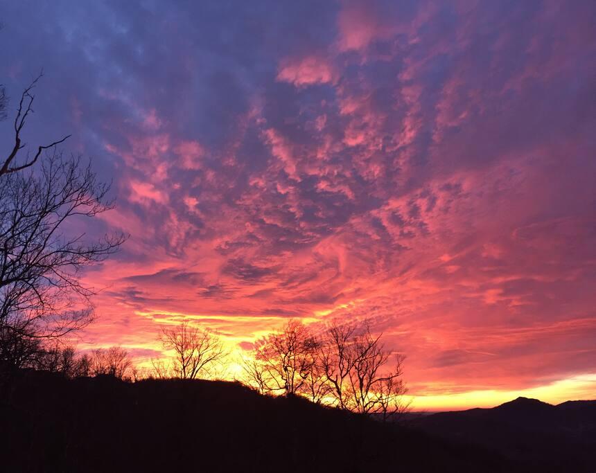 Morning sunrise!