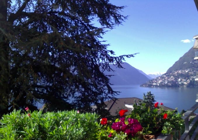 Grand lake view!  Lugano-Center! Near train! Wow! - Lugano - Apartamento