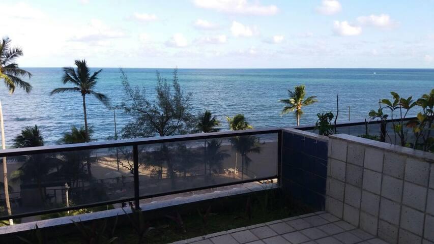 Flat mobiliado na Beira Mar Piedade, Golden Beach - Jaboatão dos Guararapes - Serviced flat