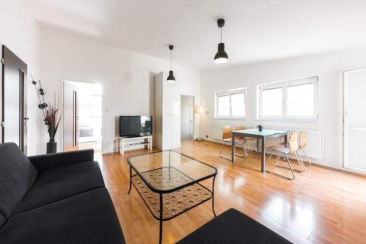 Apartment with two bedrooms and terrace