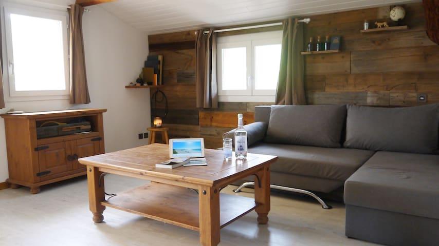 Appartement cosy dans la plaine du Fium'Orbu